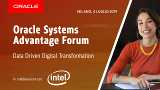 Come si può attivare una strategia di trasformazione digitale basata sui dati? Scoprilo all'Oracle System Advantage Forum